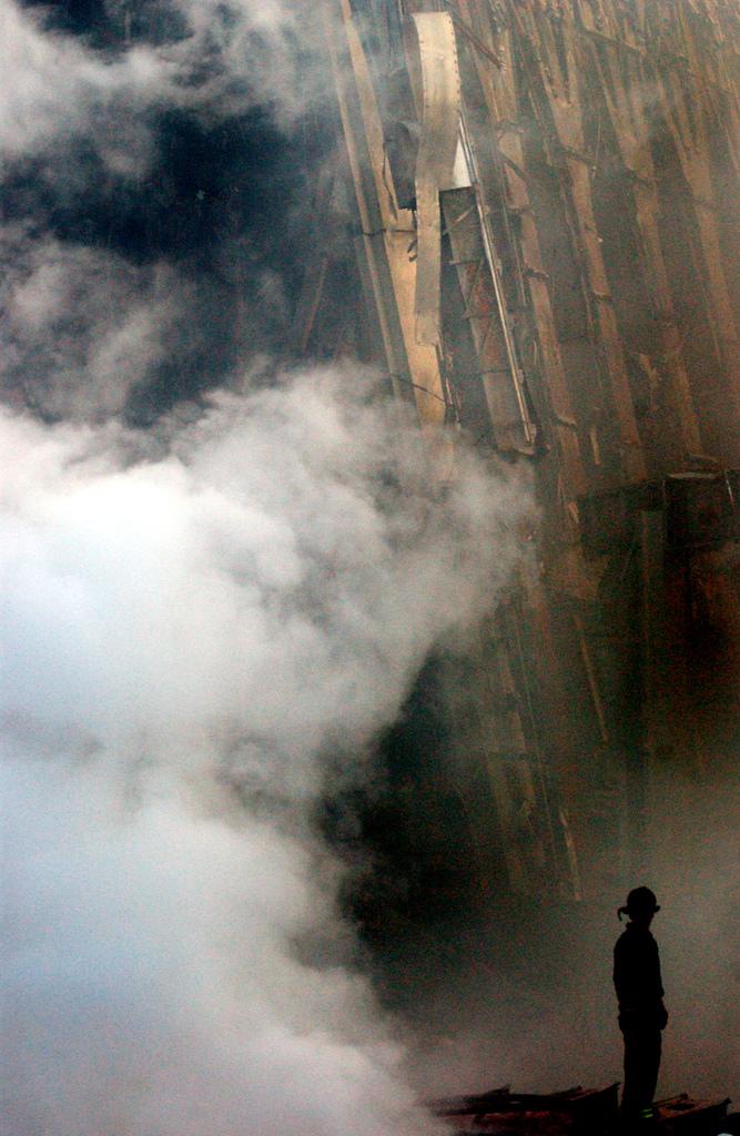 Smoke damage photo