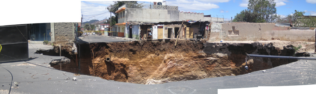 sinkhole photo